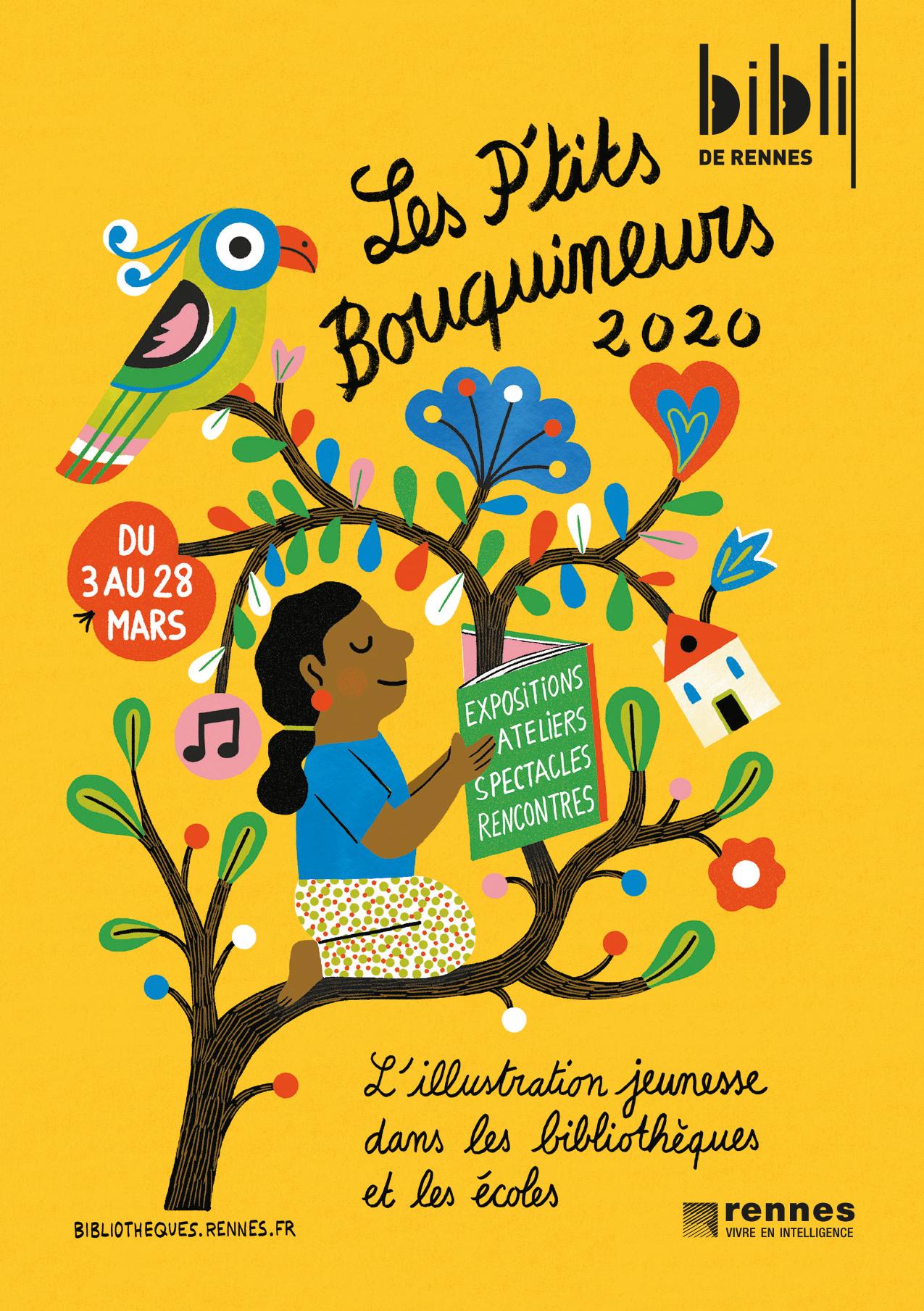 affiche P'tits Bouquineurs 2020