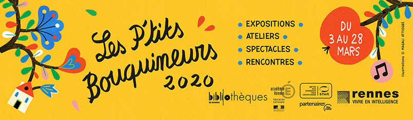 marque page P'tits bouquineurs 2020